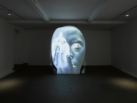 Tony Oursler, template/variant/friend/stranger, Lisson Gallery