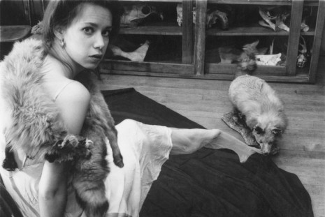 Francesca Woodman, I'm trying my hand at fashion photography, Marian Goodman Gallery