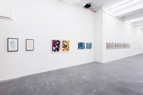 Group show, Works on Paper, Galerie Eva Presenhuber