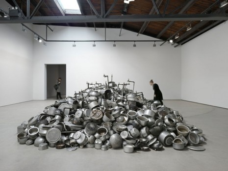 Subodh Gupta, Seven Billion Light Years, Hauser & Wirth