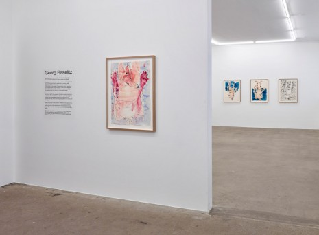Georg Baselitz, New Works, Galleri Bo Bjerggaard