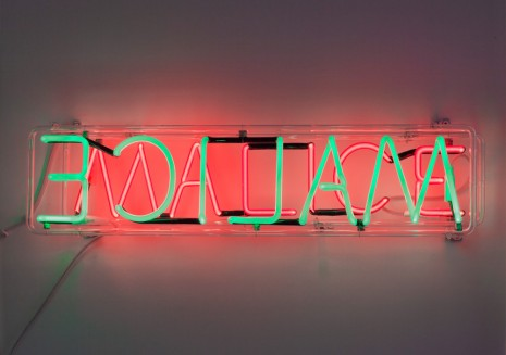 Bruce Nauman, Selected Works from 1967 to 1990, Gagosian