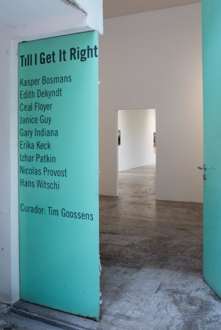 Group show, Till I Get It Right, LABOR