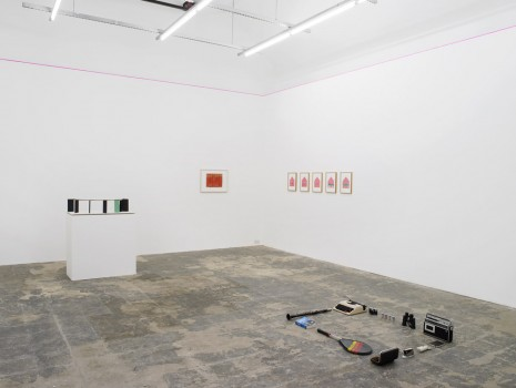Group show, Insecure Scaffolds, Hollybush Gardens