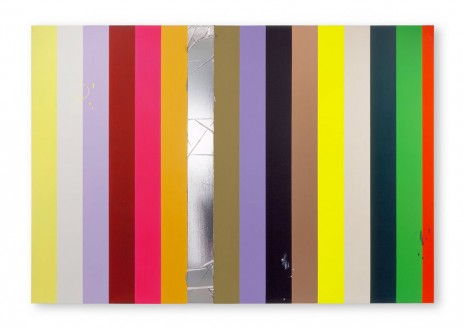 Anselm Reyle, Stripe Paintings, Contemporary Fine Arts - CFA