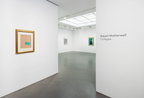 Robert Motherwell, Collages, Andrea Rosen Gallery