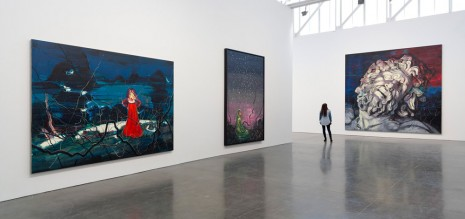 Zeng Fanzhi, Paintings, Drawings, and Two Sculptures, Gagosian