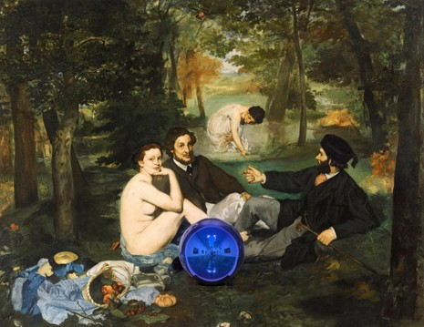 Jeff Koons, Gazing Ball Paintings, Gagosian