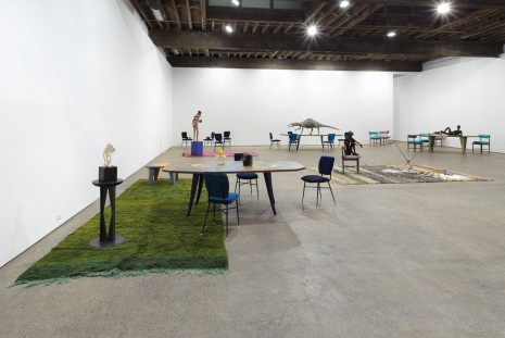 Group show, Francis Upritchard and Martino Gamper, Anton Kern Gallery