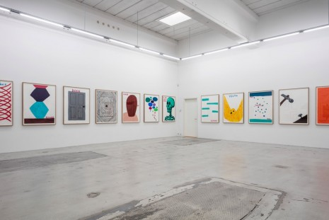 David Shrigley, COLOURED WORKS ON PAPER, Galleri Nicolai Wallner