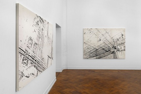 Nate Lowman, Downtown Is A Construct, Massimo De Carlo