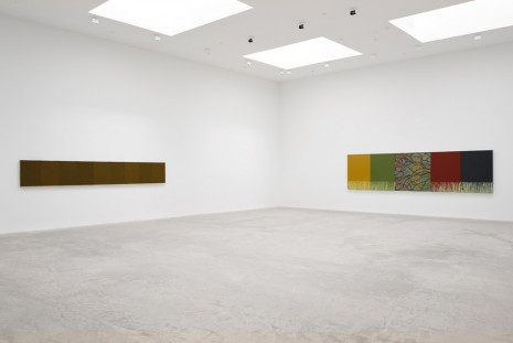 Brice Marden, New Paintings, Matthew Marks Gallery
