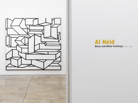 Al Held, Black and White Paintings, Cheim & Read