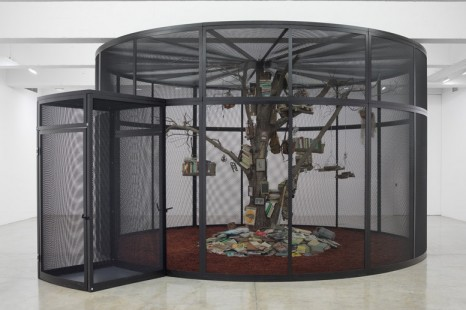 Mark Dion, The Library for the Birds of New York and Other Marvels, Tanya Bonakdar Gallery