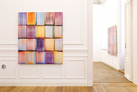 Bernard Frize, Line Striping, Galerie Micheline Szwajcer (closed)