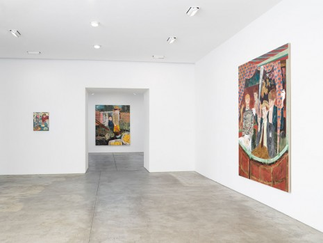 Hernan Bas, Bright Young Things, Lehmann Maupin