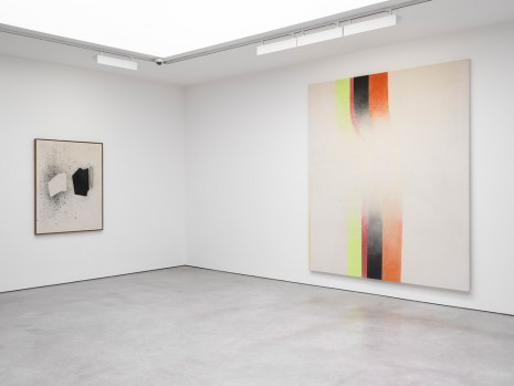 John Latham, Spray Paintings, Lisson Gallery