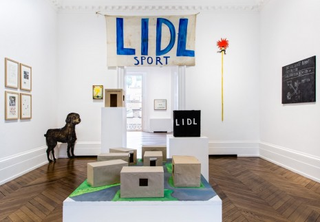 Jörg Immendorff, LIDL Works and Performances from the 60s and Late Paintings after Hogarth, Michael Werner