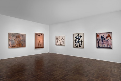 A.R. Penck, Early works, Michael Werner