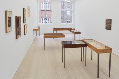 Joseph Grigely, The Gregory Battcock Archive, Marian Goodman Gallery