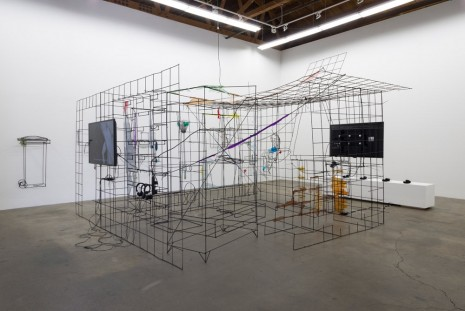 Neil Beloufa, Democracy, Ghebaly Gallery