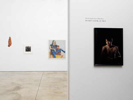 Group show, The Female Gaze, Part Two: Women Look at Men, Cheim & Read