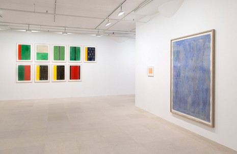 Günther Förg, Works on Paper: 1976 – 2008, Greene Naftali