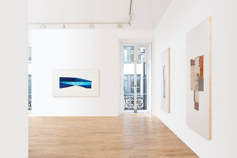Erik Lindman, Metal Paintings, Almine Rech Gallery