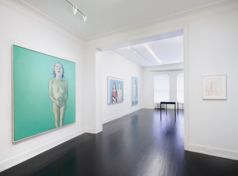 Maria Lassnig, Woman Power: Maria Lassnig in New York 1968-1980, Petzel Gallery