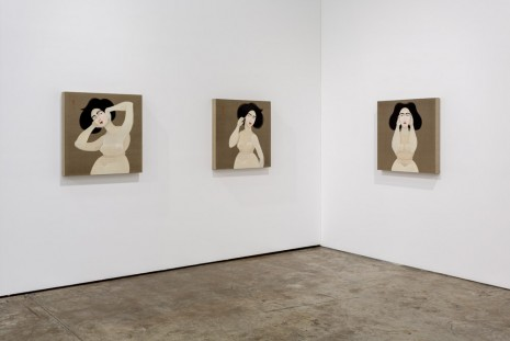 Hayv Kahraman, Audible Inaudible, The Third Line