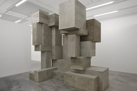 Antony Gormley, Fit, White Cube