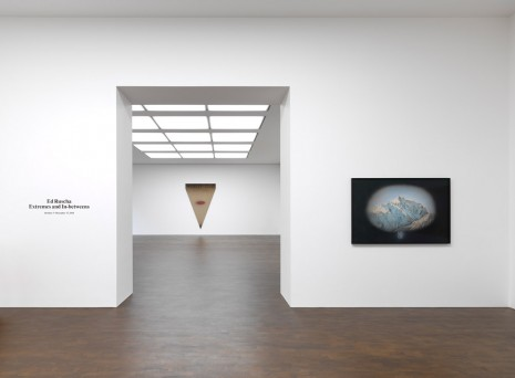 Ed Ruscha, Extremes and In-betweens, Gagosian