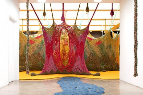 Ernesto Neto, The Serpent's Energy Gave Birth To Humanity, Tanya Bonakdar Gallery