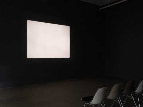 Morgan Fisher, Screening Room, Bortolami Gallery