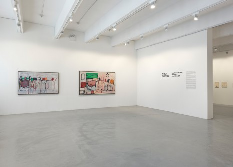 Philip Guston, Laughter in the Dark, Drawings from 1971 & 1975, Hauser & Wirth