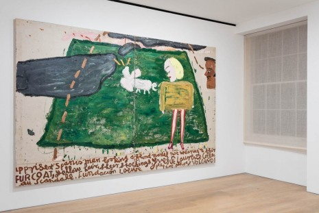 Rose Wylie, Horse, Bird, Cat, David Zwirner