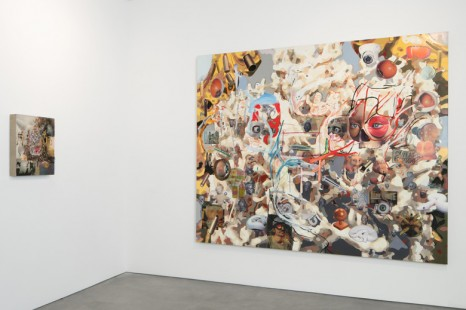 Elliott Hundley, Dust Over Everything, Andrea Rosen Gallery (closed)