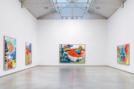 David Salle, New Paintings, Galerie Thaddaeus Ropac