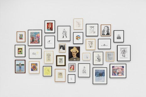 Group show, Drawn Together, David Zwirner