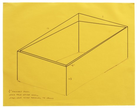 Donald Judd, Working Papers: Donald Judd Drawings, 1963-93  , Sprüth Magers