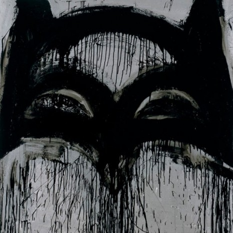Joyce Pensato, Batman Returns, Petzel Gallery