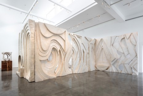 Thomas Houseago, The Ridge, Gagosian