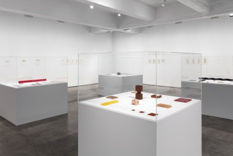 Carl Andre, Small Sculptures and Short Words, Paula Cooper Gallery