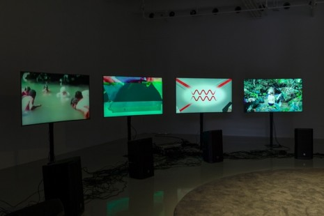 Haroon Mirza, ããã – Fear of the Unknown remix, Lisson Gallery