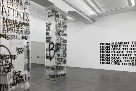 Stefan Brüggemann, TAKE, PUT AND ABANDON, Hauser & Wirth