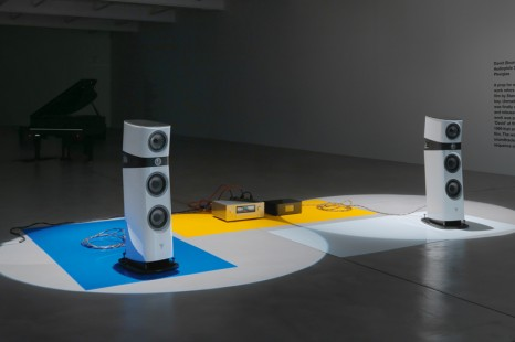 Liam Gillick, Extended Soundtrack For A Lost Production Line: Ton Und Film, Galerie Eva Presenhuber