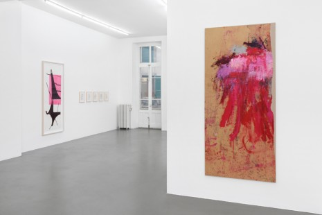Martha Jungwirth, Albert Oehlen, group show, Galerie Mezzanin