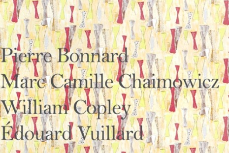 Pierre Bonnard, Marc Camille Chaimowicz, William N. Copley, Edouard Vuillard , Interiors, Andrew Kreps Gallery