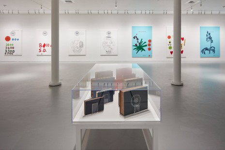Ed Ruscha, Jonas Wood, Notepads, Holograms and Books, Gagosian