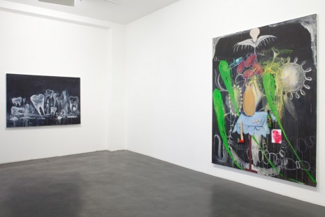 Manuel Ocampo, Oeuvres : 1994 - 2016, Galerie Nathalie Obadia